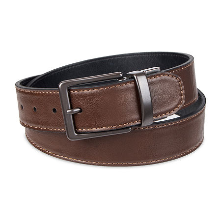 Levi's Reversible Casual Men's Belt with Single-Stitch, X-large , Brown