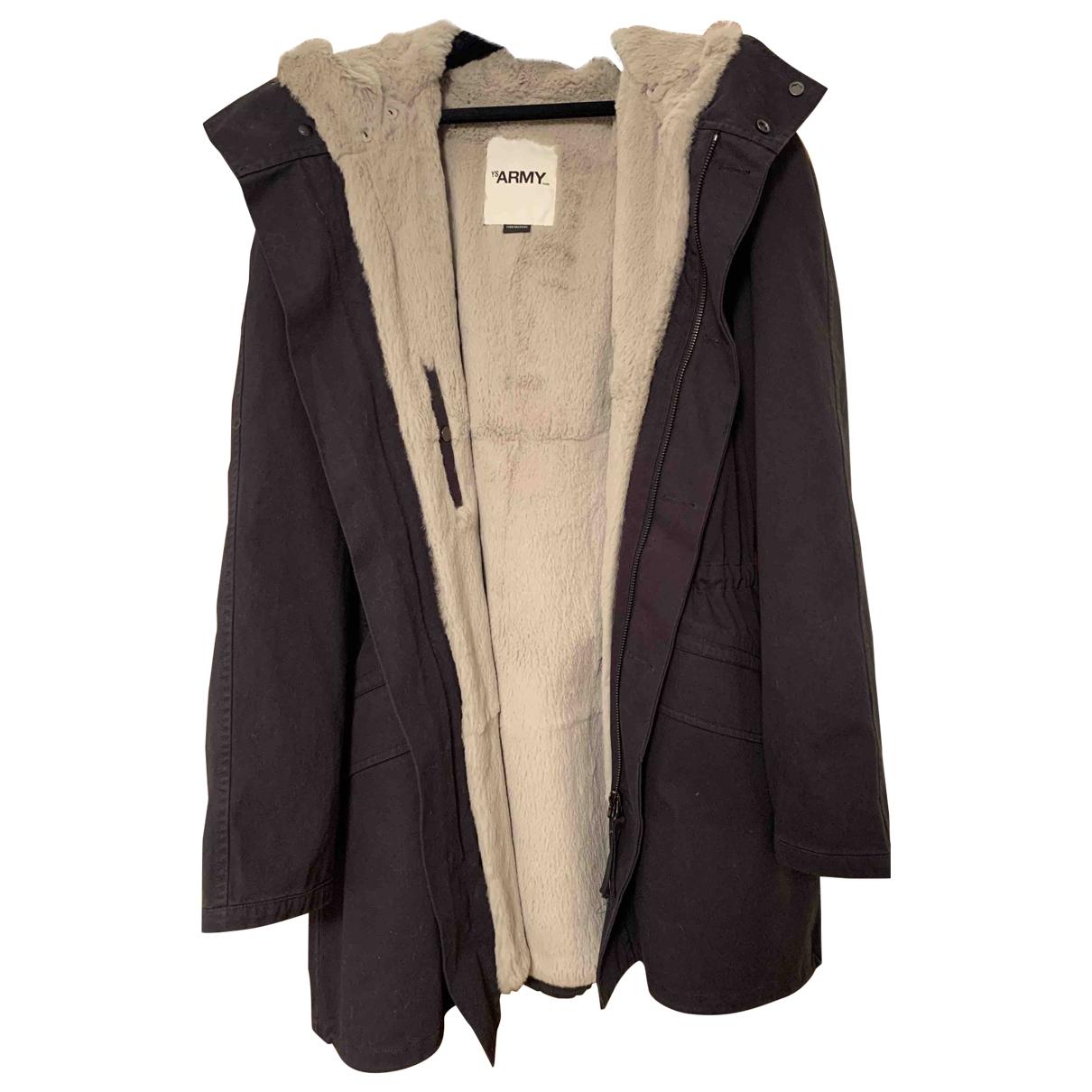 Army - Manteau   pour homme en coton - marine