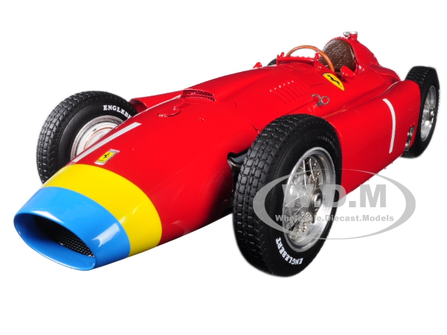 Ferrari Lancia D50 Long Nose 1 Juan Manuel Fangio Grand Prix Germany (1956) Limited Edition to 1500 pieces Worldwide 1/18 Diecast Model Car by CMC