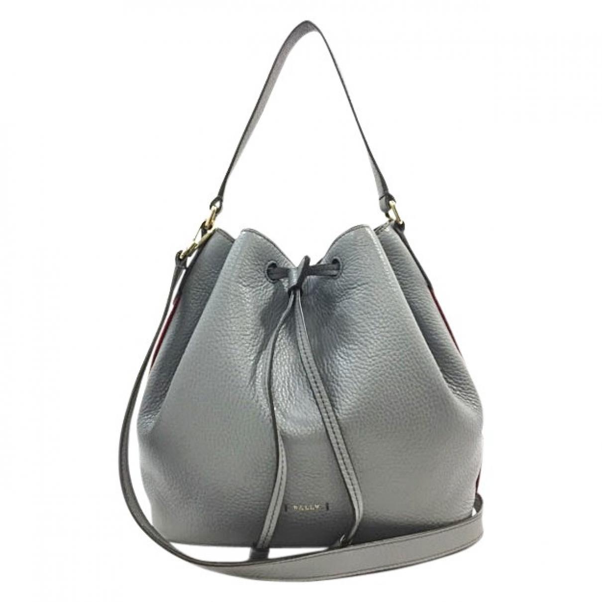 Bally \N Grey Leather handbag for Women \N