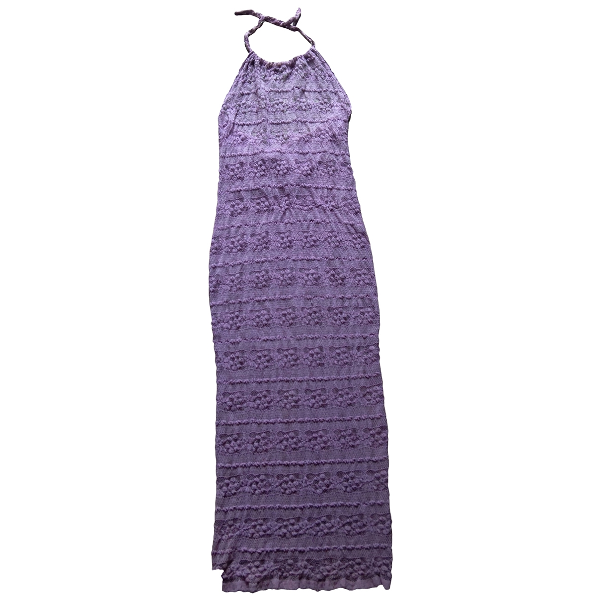 - Robe   pour femme en dentelle - violet