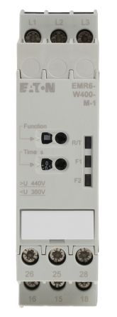 Eaton Phase, Voltage Monitoring Relay, 400 V ac Supply Voltage