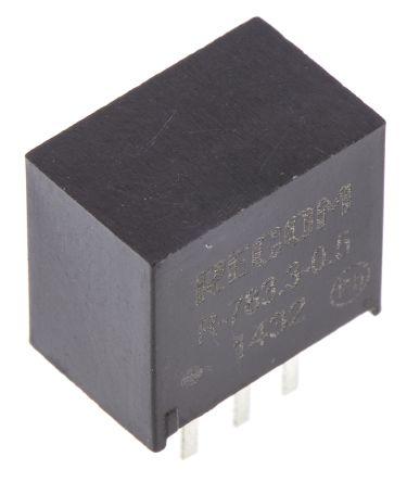 Recom Through Hole Switching Regulator, 3.3V dc Output Voltage, 4.75 → 32V dc Input Voltage, 500mA Output Current