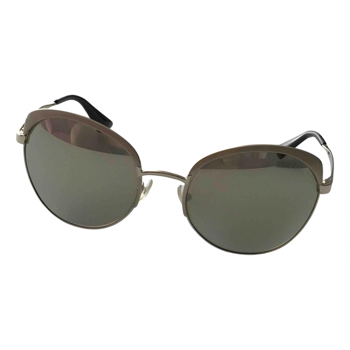 Prada \N Silver Metal Sunglasses for Women \N