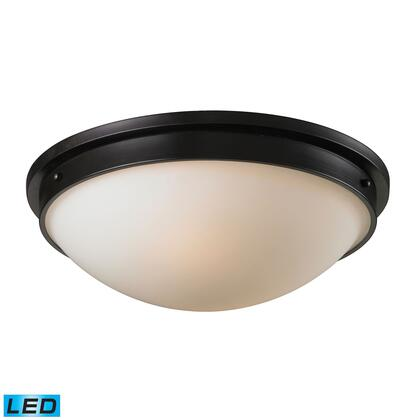11451/2-LED Flushmounts 2 Light Flushmount in -