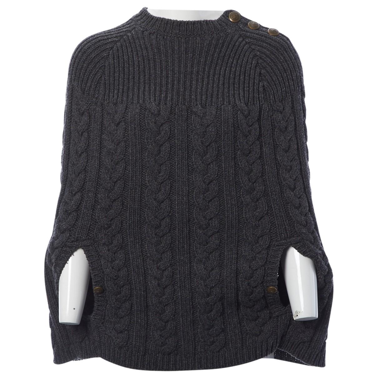 Louis Vuitton \N Pullover in  Grau Wolle