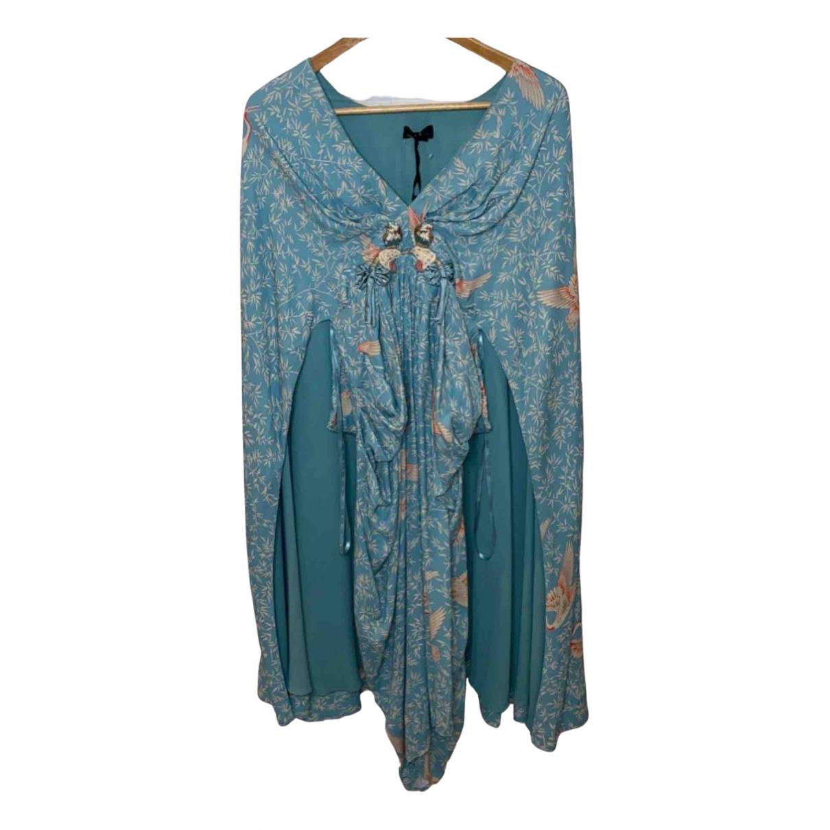 Elisabetta Franchi \N Blue dress for Women 40 IT