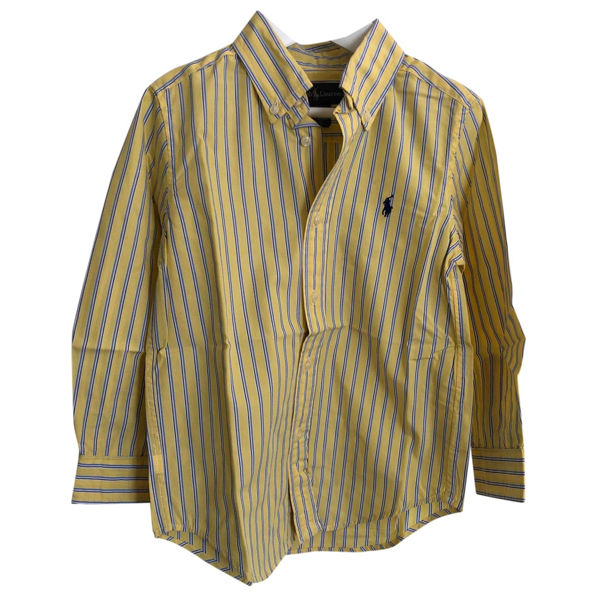 Ralph Lauren \N Yellow Cotton  top for Kids 4 years - until 40 inches UK