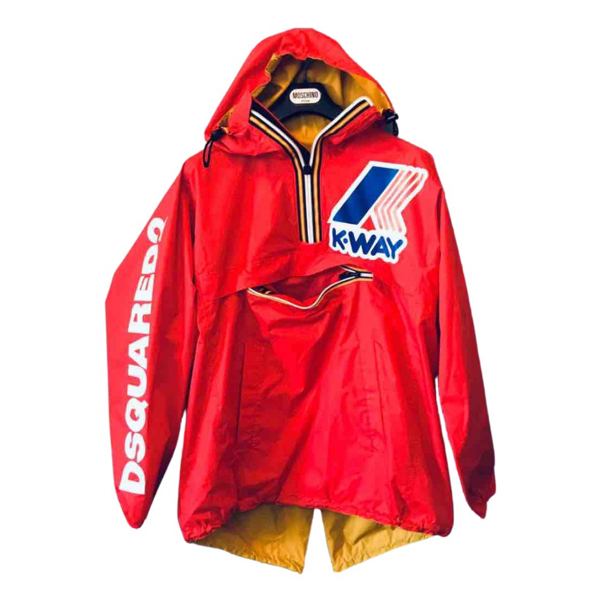 Dsquared2 \N Jacke in  Rot Polyester