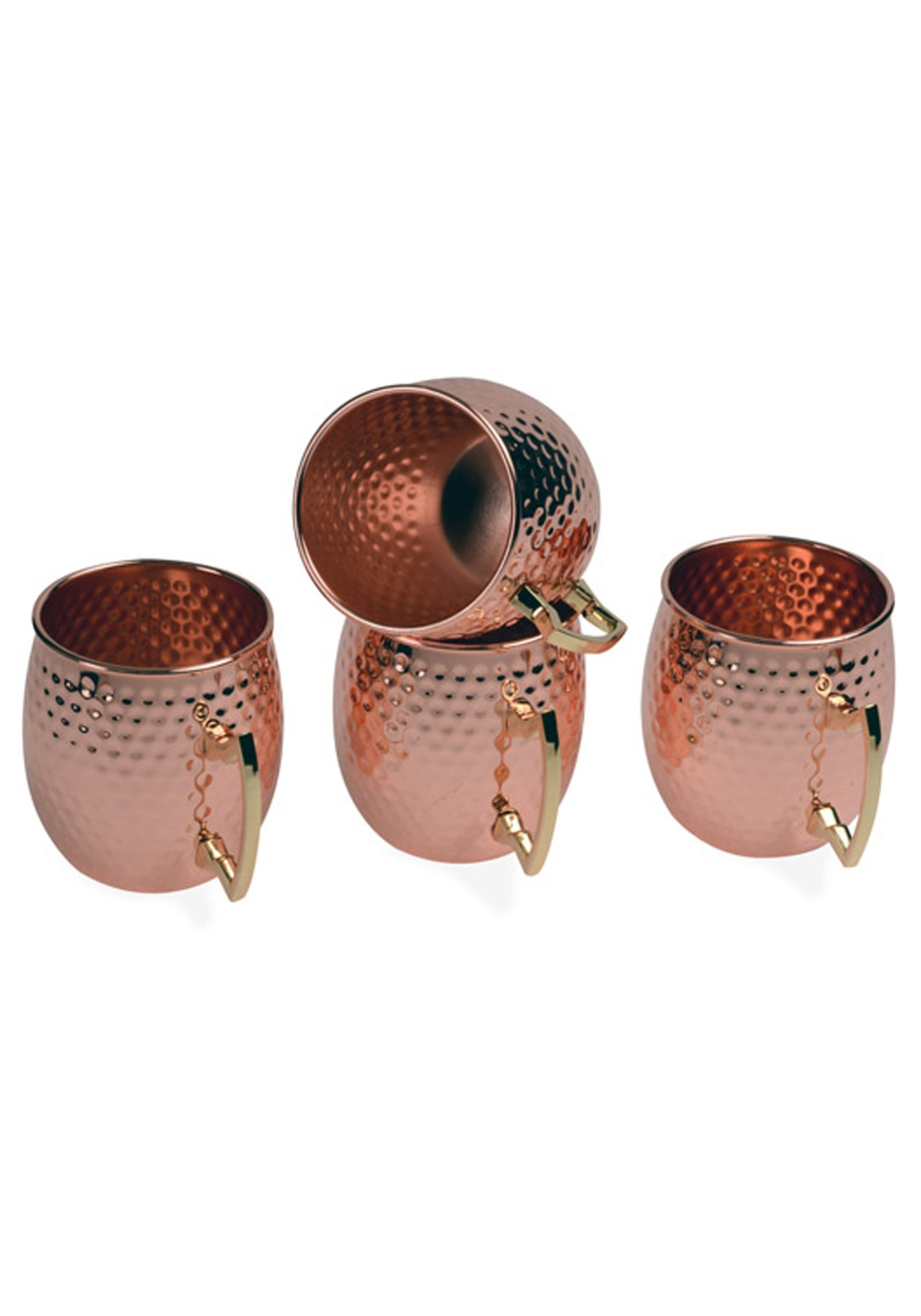 4 Pack Copper Moscow Mule 16oz