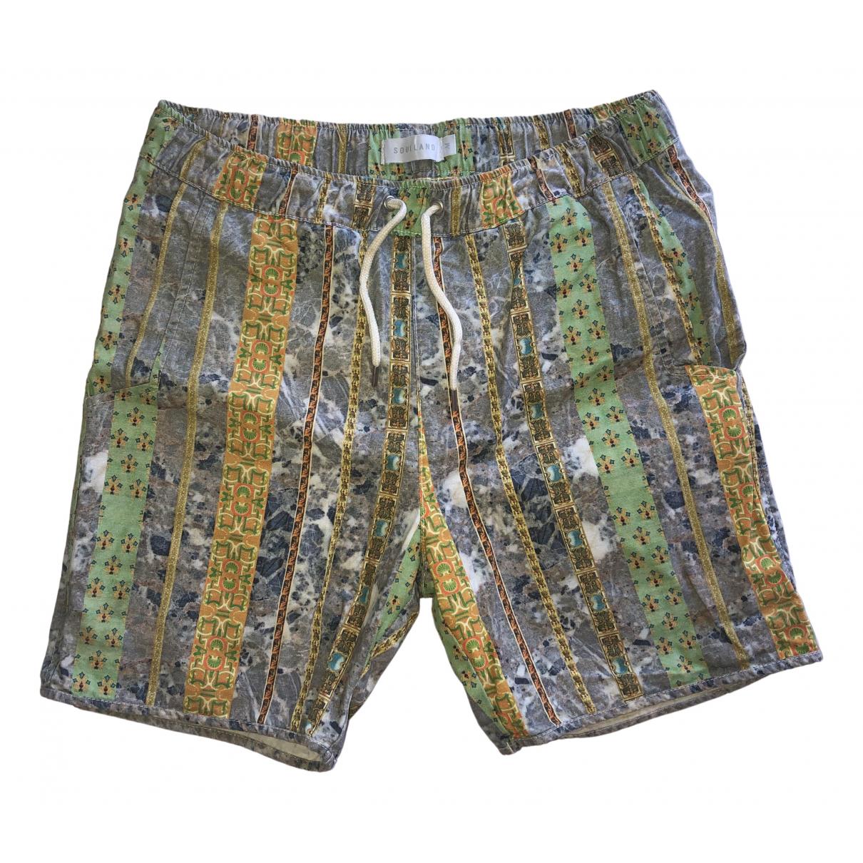 Soulland \N Multicolour Cotton Shorts for Men M International