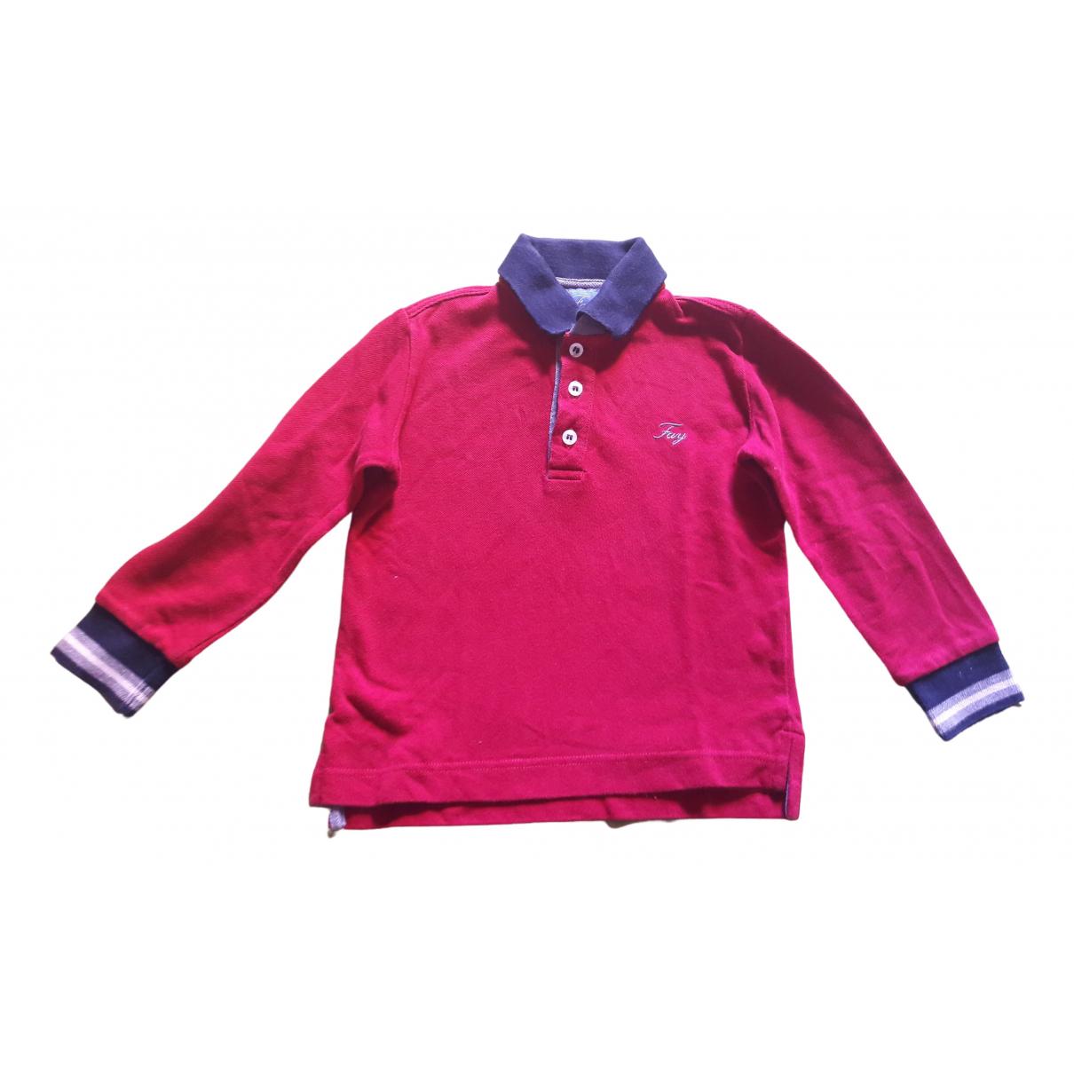 Fay - Top   pour enfant en coton - rouge