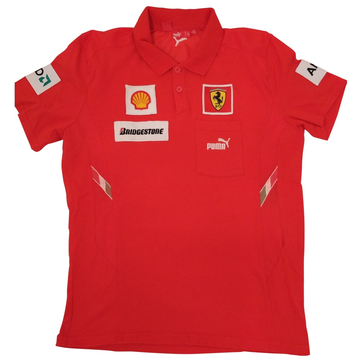 Puma \N Red Cotton Polo shirts for Men 48 IT