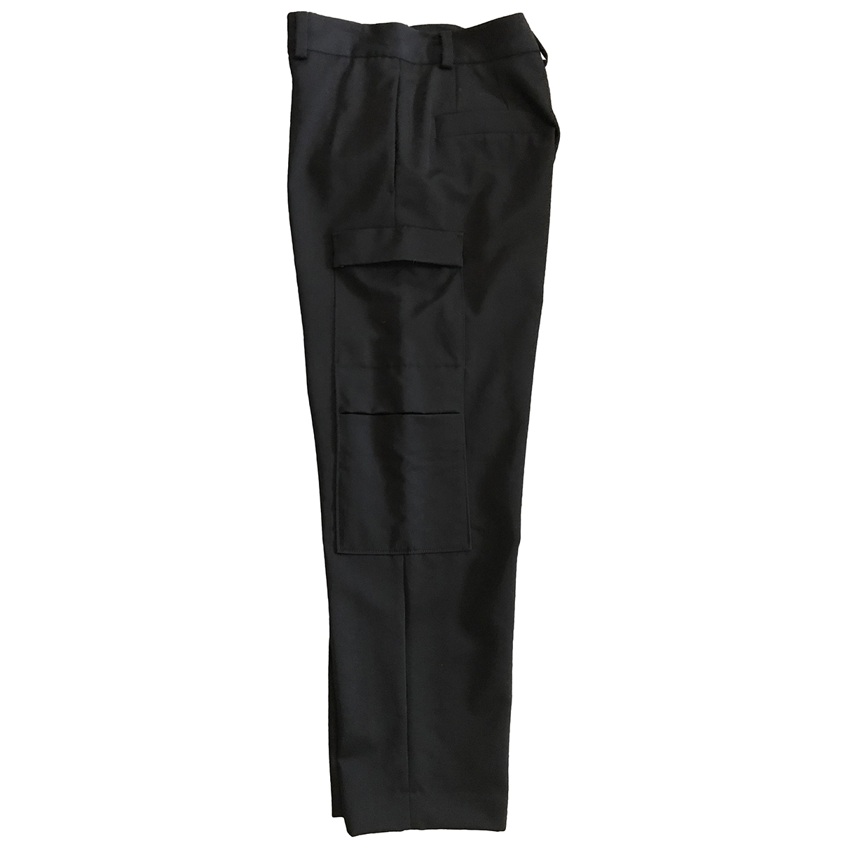 Cos \N Black Wool Trousers for Men 50 IT