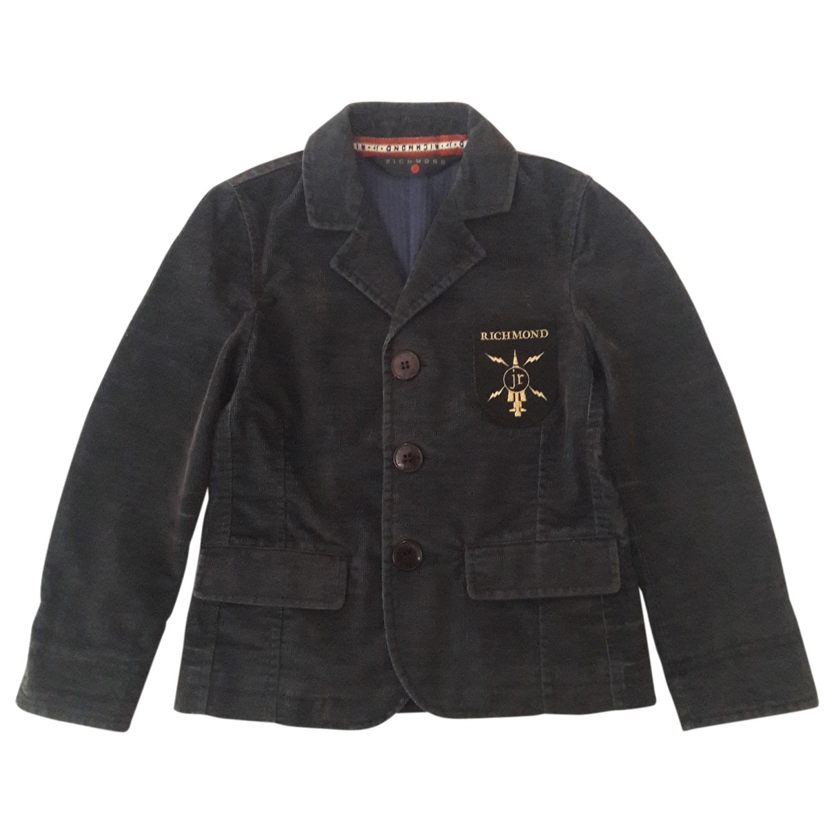 John Richmond \N Blue Cotton jacket & coat for Kids 6 years - up to 114cm FR