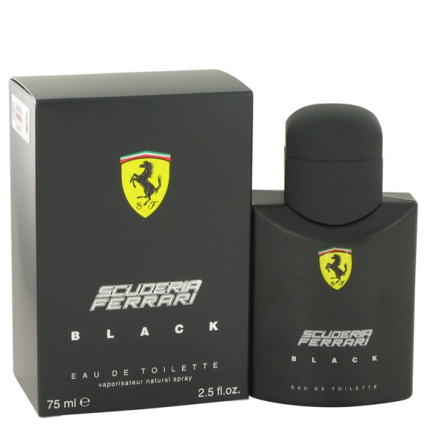Ferrari - Ferrari Scuderia Black : Eau de Toilette Spray 2.5 Oz / 75 ml