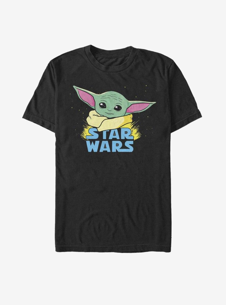 Star Wars The Mandalorian The Child Profile Logo T-Shirt