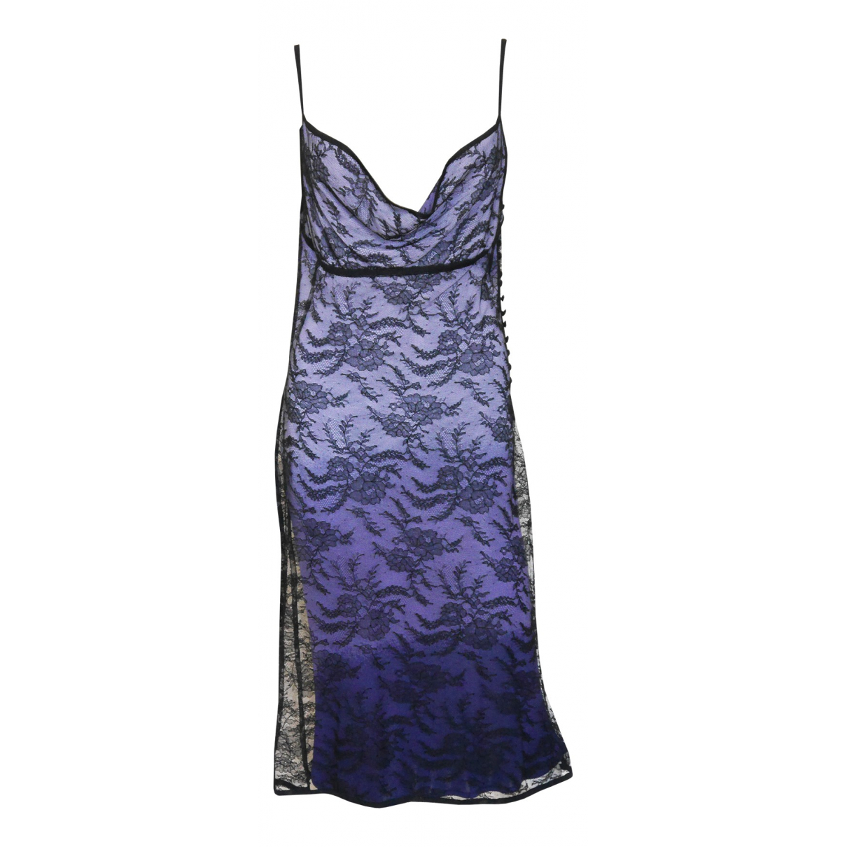John Galliano N Purple dress for Women M International