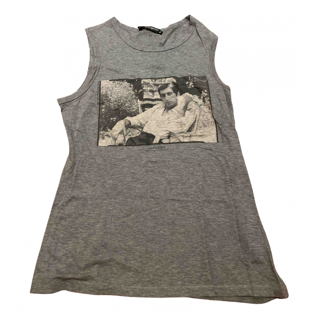 Dolce & Gabbana \N Grey Cotton  top for Women 42 IT
