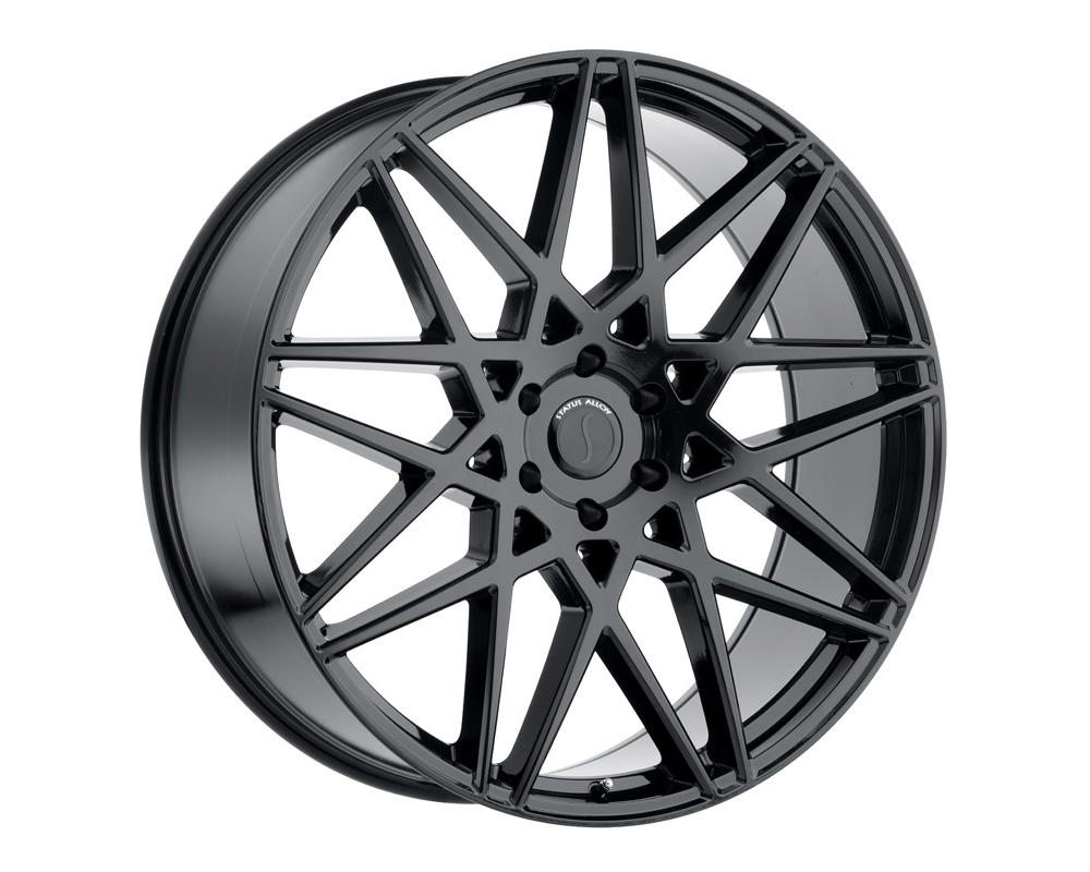 Status Griffin Wheel 24x9.5 5x114.3 30mm Gloss Black