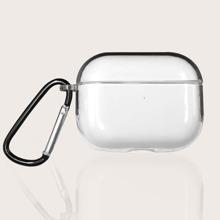 1 pieza funda de airpods transparente
