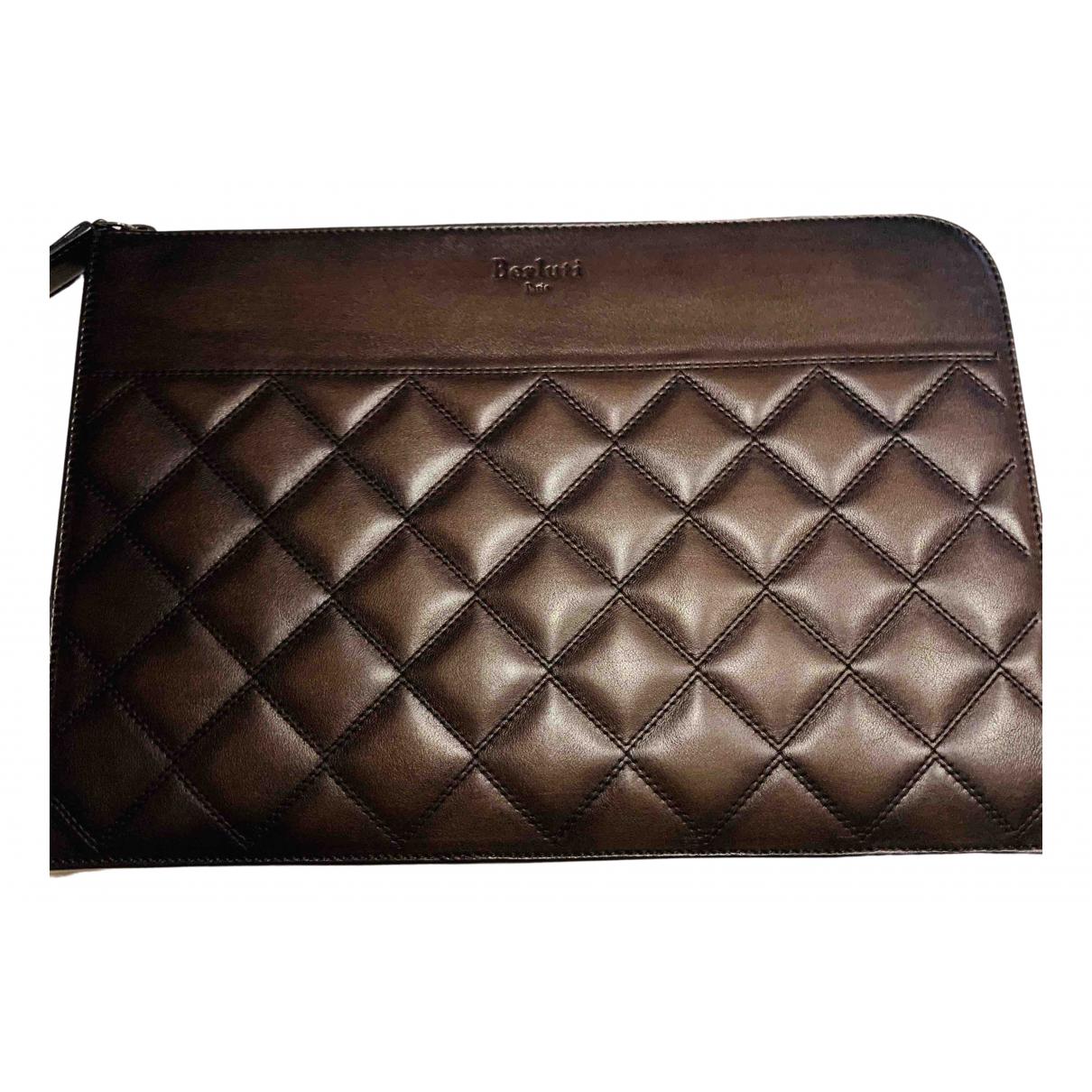Berluti - Accessoires   pour lifestyle en cuir - marron