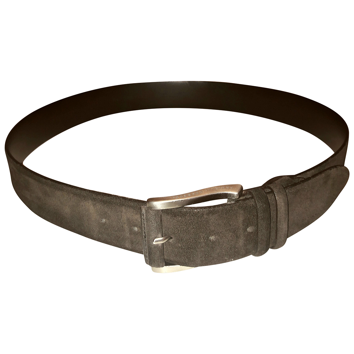 Fratelli Rossetti N Brown Suede belt for Men 100 cm