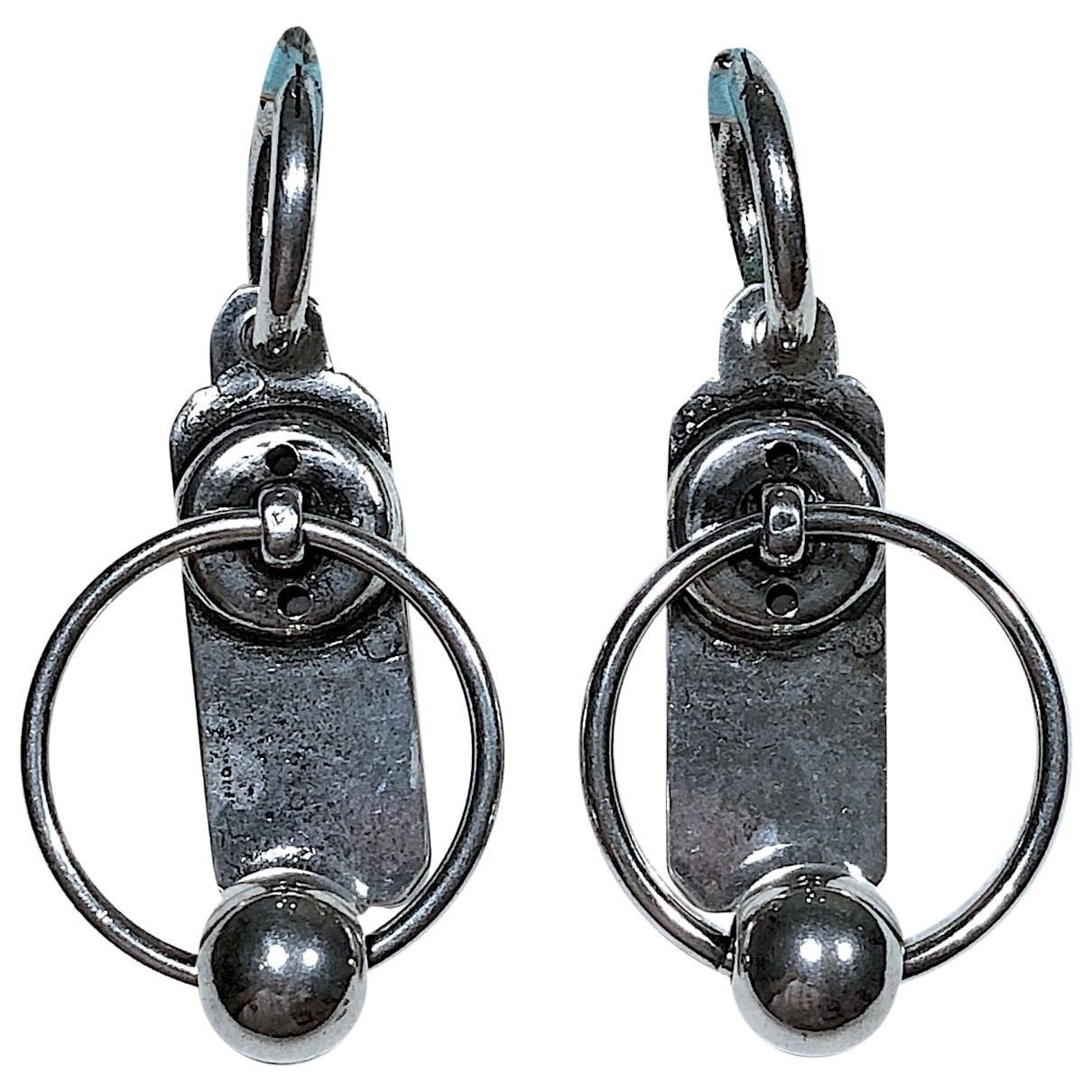 Reminiscence - Boucles doreilles   pour femme en acier - argente