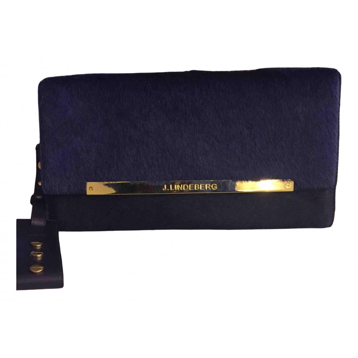 J.lindeberg \N Blue Cloth Clutch bag for Women \N