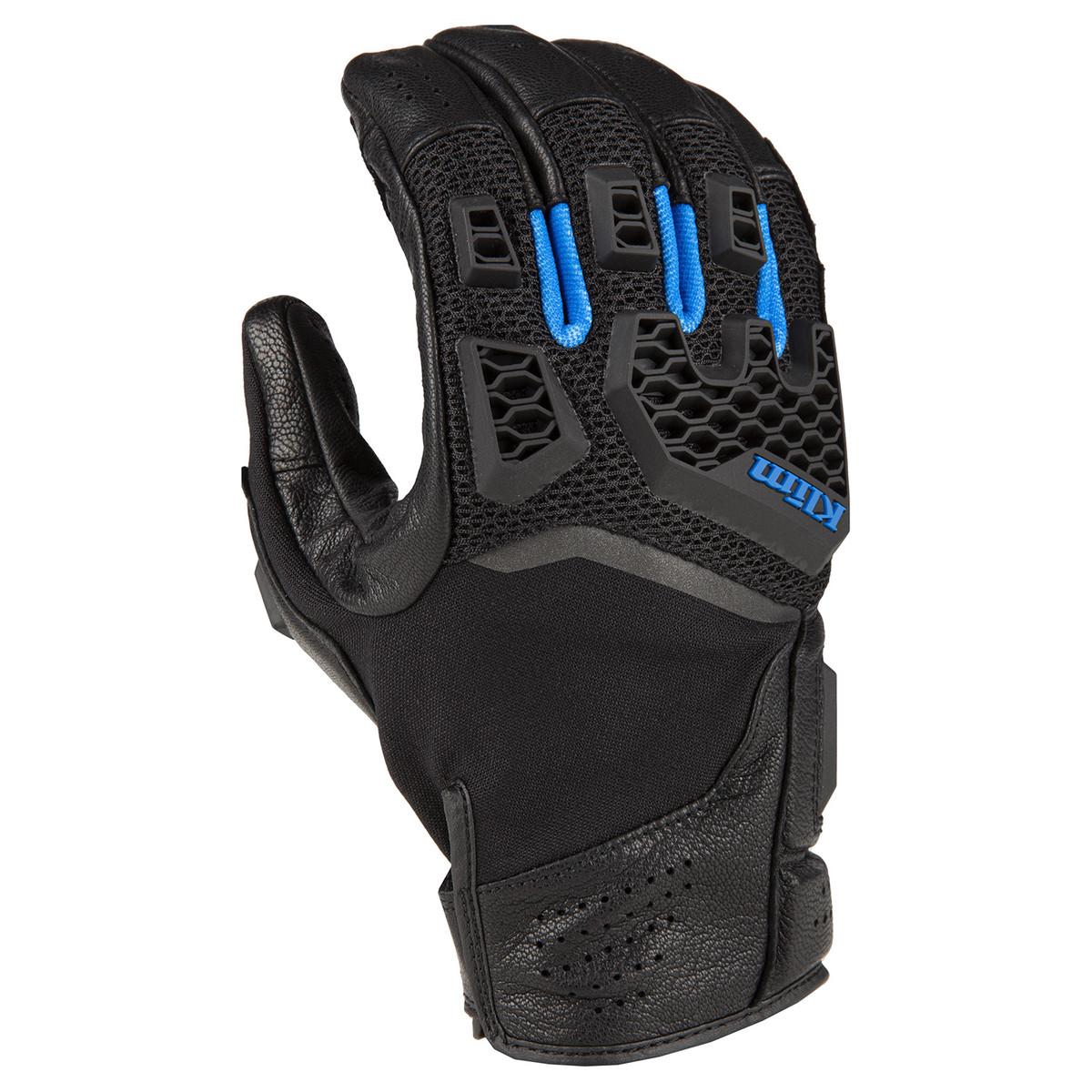 Klim Baja S4 Guantes Motorista Negro Kinetik Azul S