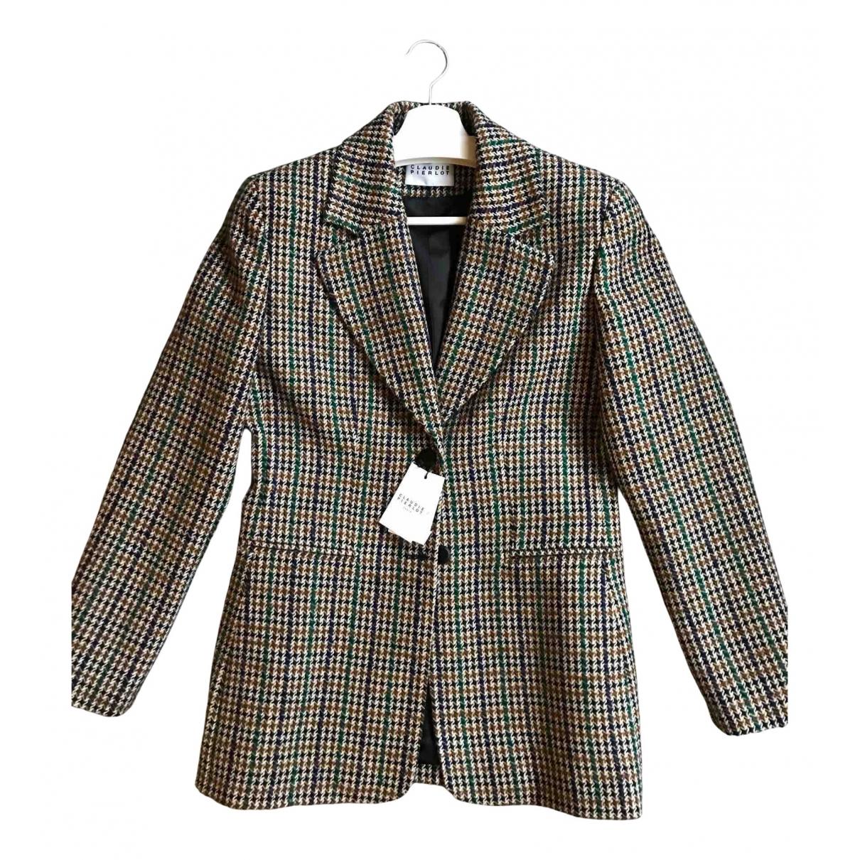 Claudie Pierlot N Wool jacket for Women 38 FR