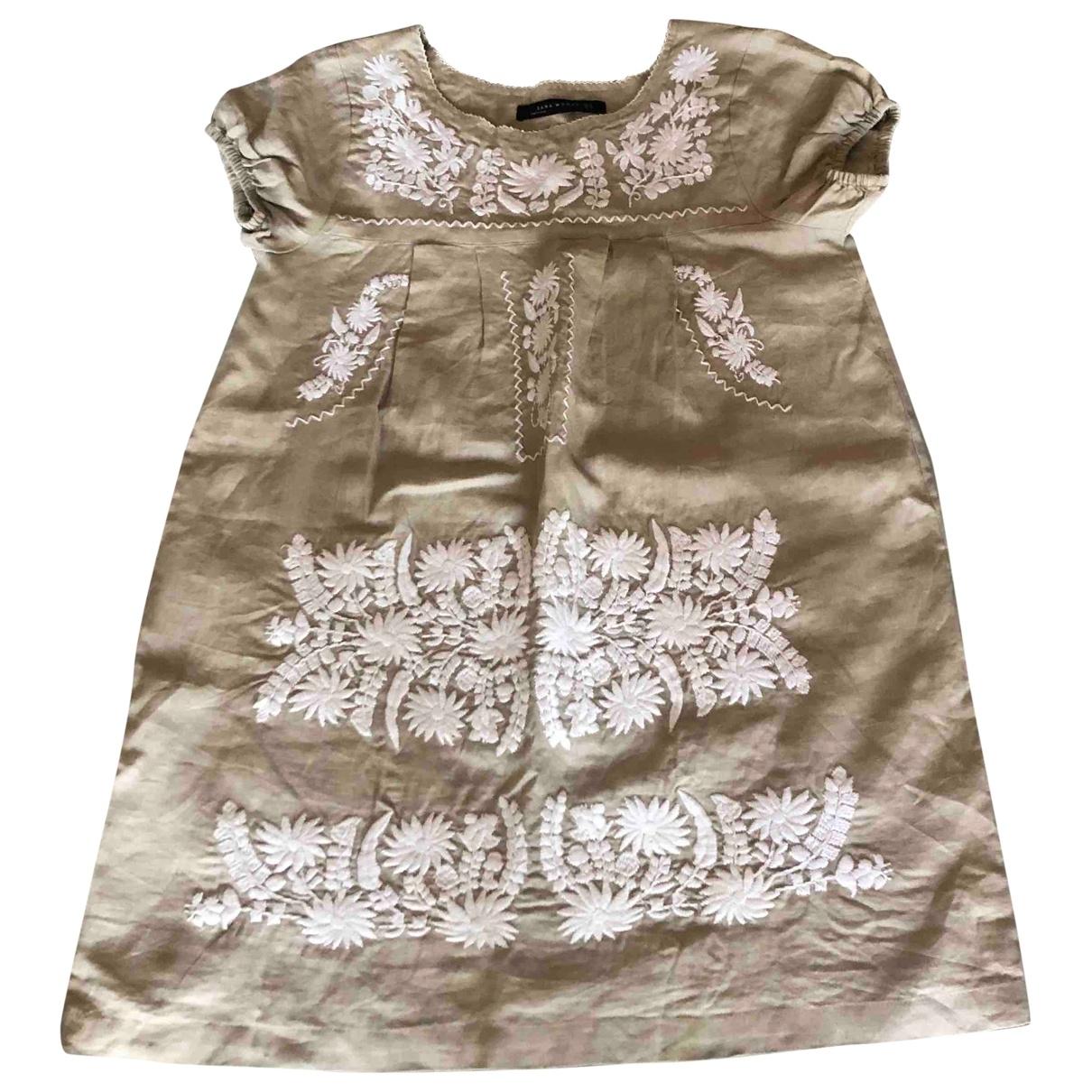 Mini vestido de Lino Zara