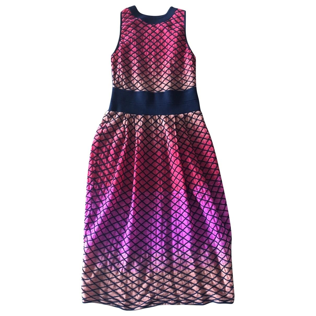 M Missoni - Robe   pour femme en coton - multicolore
