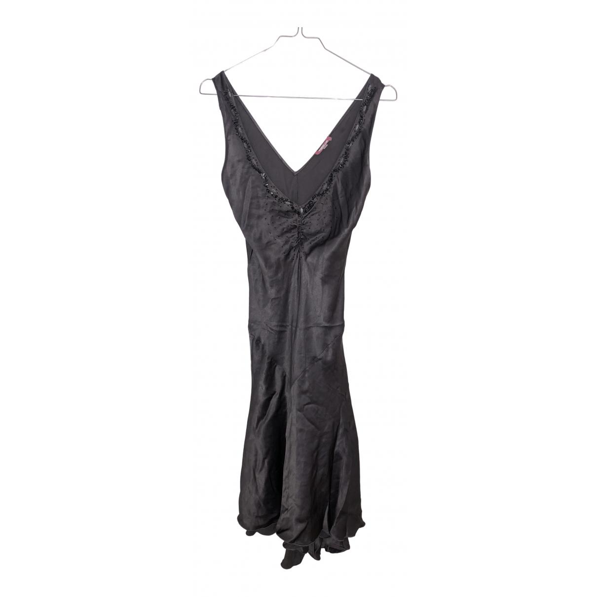 Blumarine \N Kleid in  Grau Seide