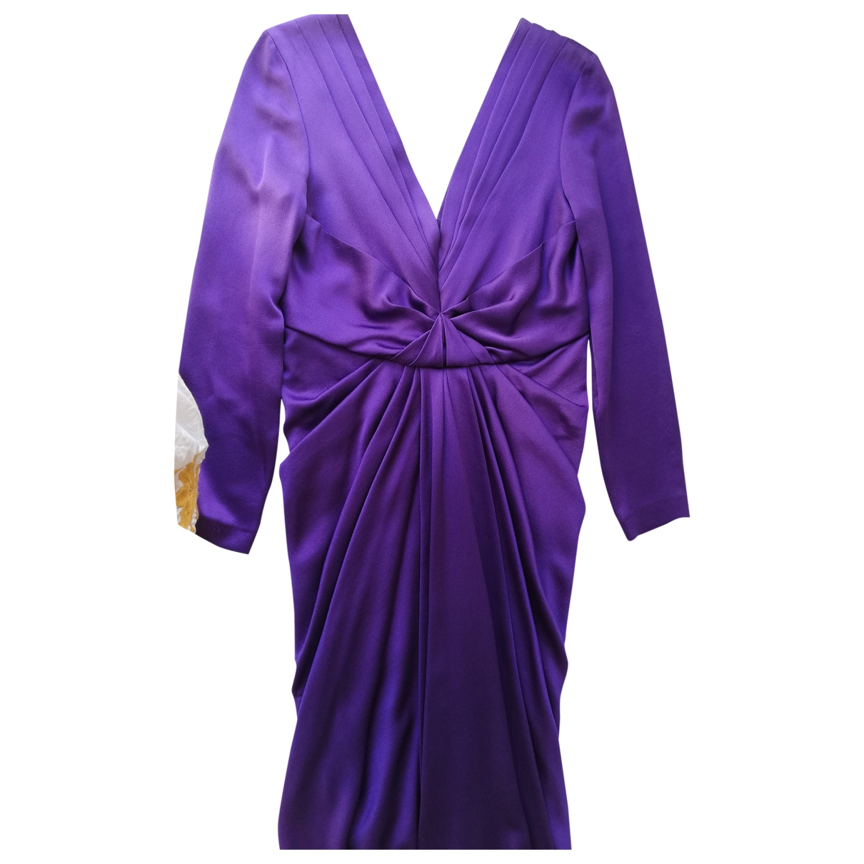 Non Signé / Unsigned \N Purple dress for Women 36 FR