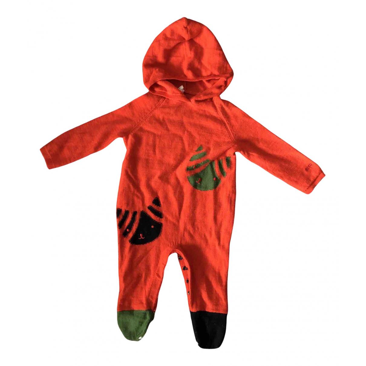 Sonia Rykiel - Les ensembles   pour enfant en coton - orange