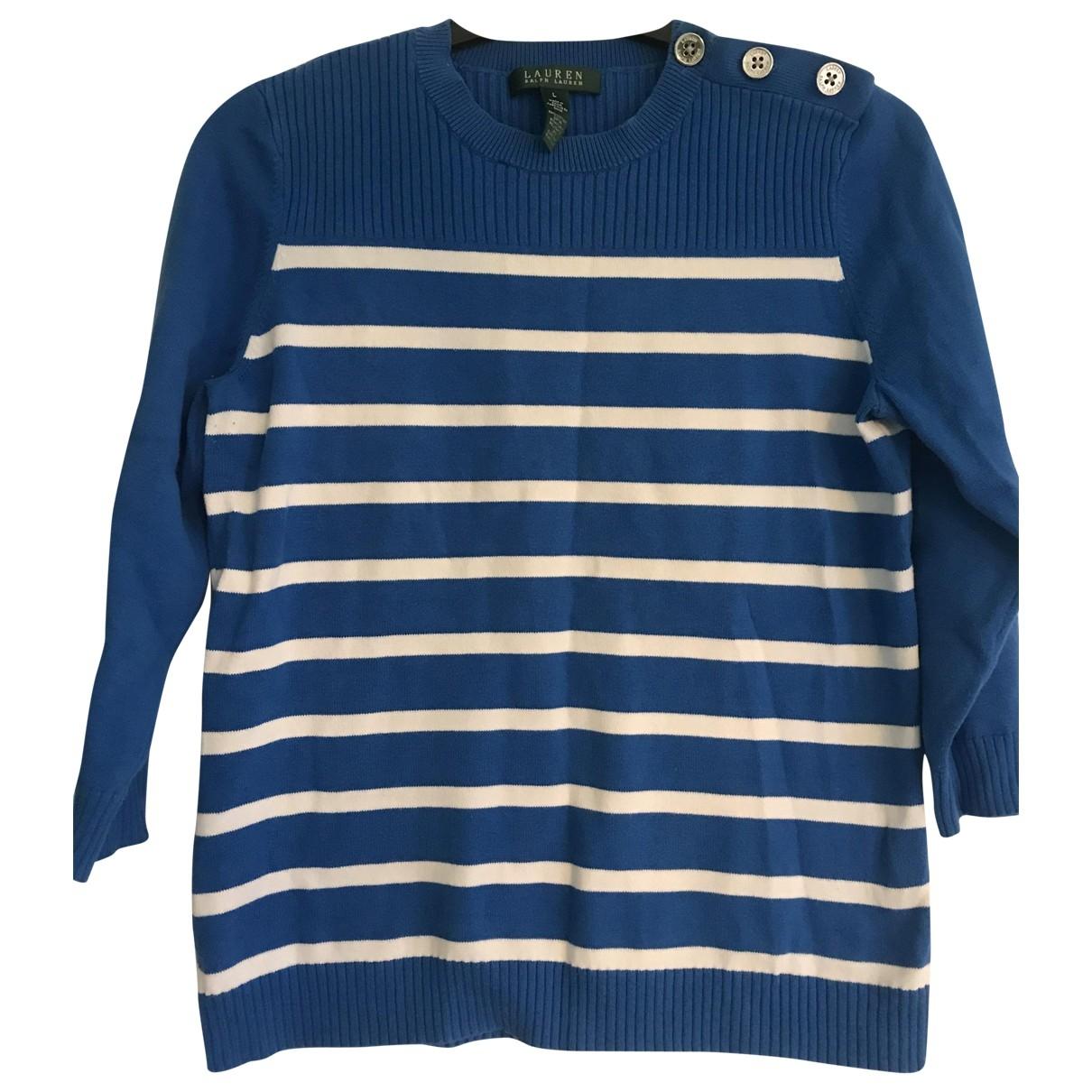 Lauren Ralph Lauren \N Pullover in  Blau Baumwolle