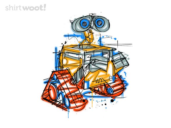 Robot Pop T Shirt