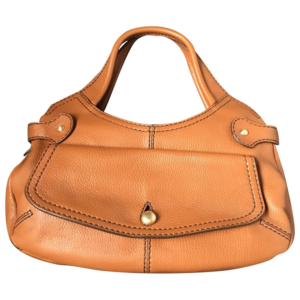 Tods \N Handtasche in  Kamel Leder