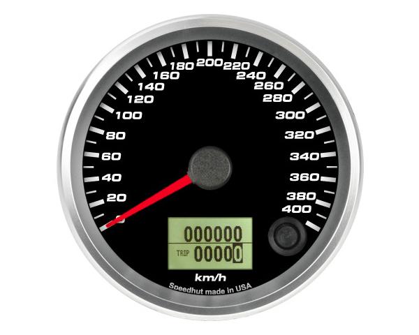 SpeedHut GRM338-SPEEDO-07 Speedometer Gauge 400kmh Metric Programmable