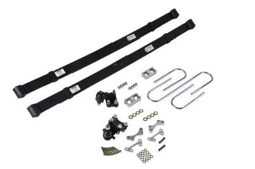 Belltech 604 2inch Front 4inch Rear Lowering Kit w/o Shocks Chevrolet Colorado | GMC Canyon Ext/Std Cab Z85 2004-2012