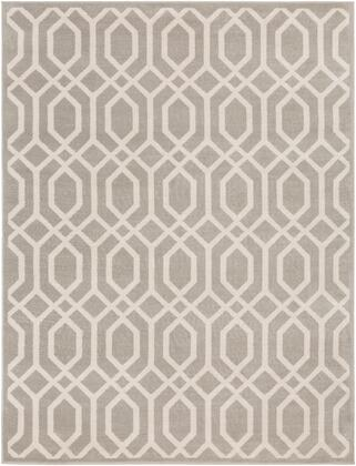 Oslo OSL-2312 710 x 102 Rectangle Cottage Rug in Light Gray