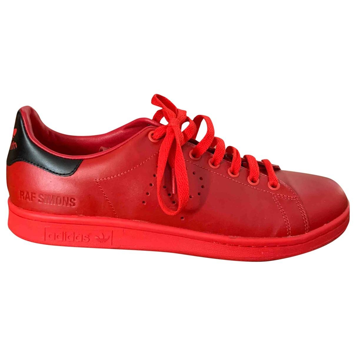Deportivas Stan Smith de Cuero Adidas X Raf Simons