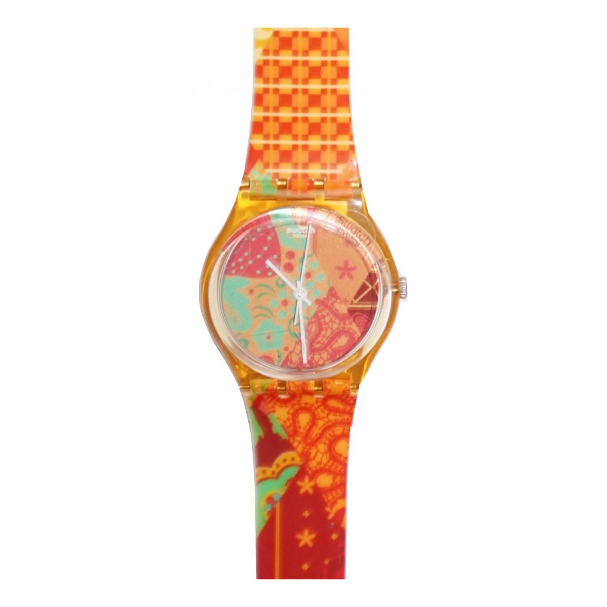 Swatch \N Uhr Orange