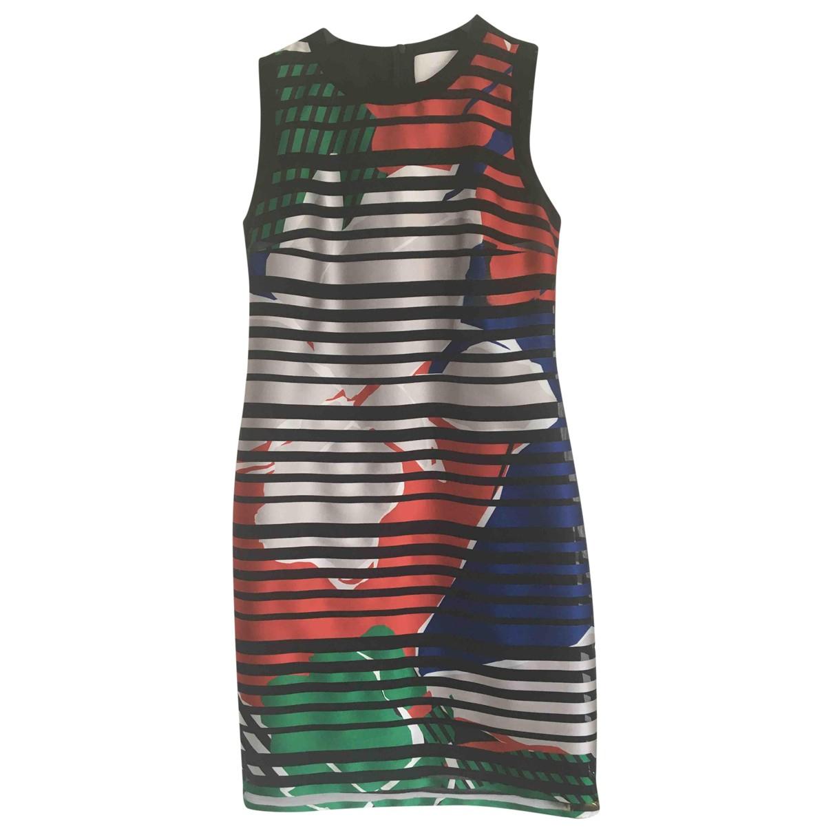 Boss \N Multicolour Silk dress for Women 10 UK