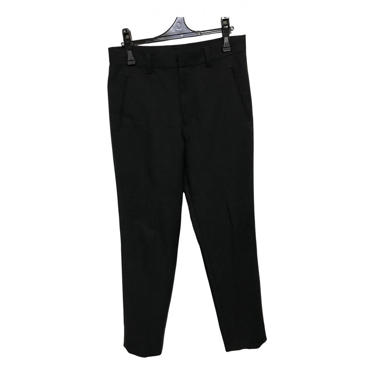 Jean Paul Gaultier N Black Wool Trousers for Men M International