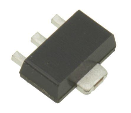 ROHM DTDG23YPT100 NPN Transistor, 1 A, 3-Pin SOT-89 (25)