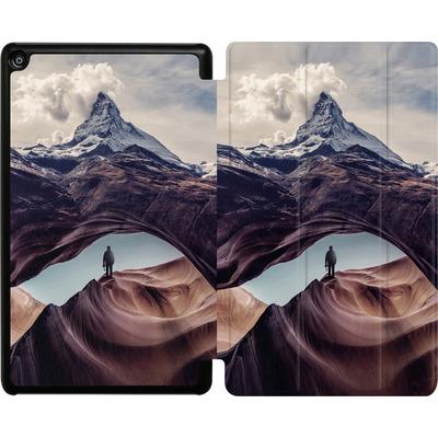 Amazon Fire HD 8 (2018) Tablet Smart Case - The Great Outdoors von Enkel Dika