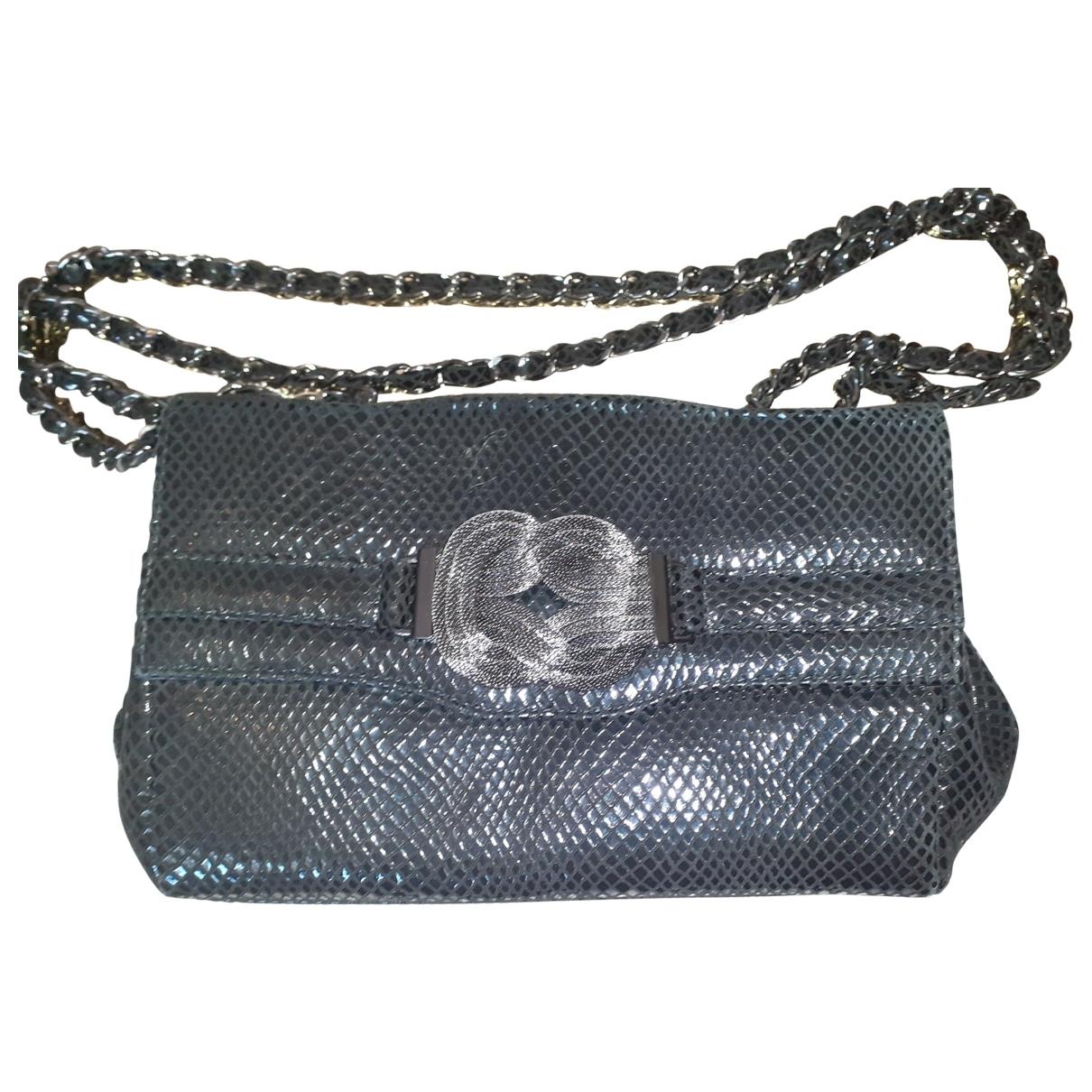 Russell & Bromley \N Handtasche in  Metallic Mit Pailletten