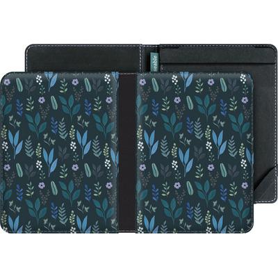 tolino vision 4 HD eBook Reader Huelle - Blue Foliage von Iisa Monttinen